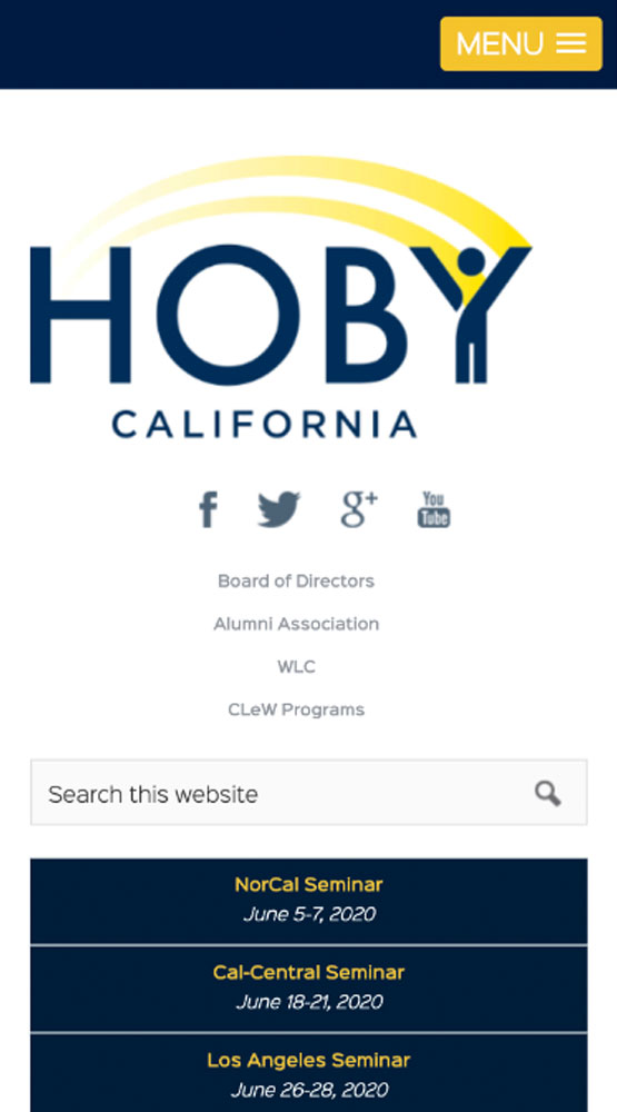HOBY CA